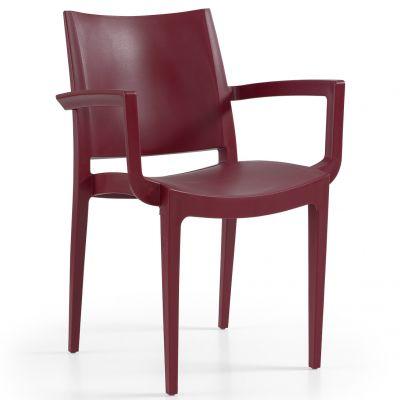 Wanda Arm Chair (Bordeaux)