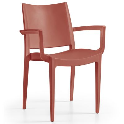 Wanda Arm Chair (Brick)