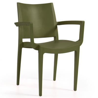 Wanda Arm Chair (Olive)