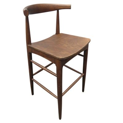 Cow Horn High Chair (Walnut)
