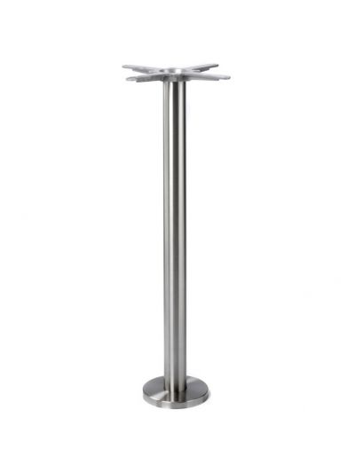 Floor Fix SS Poseur Height Table Base