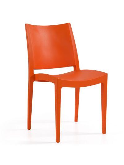 Libby Side Chair (Orange)