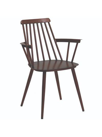 Seventy Aluminium Arm Chair (Copper)