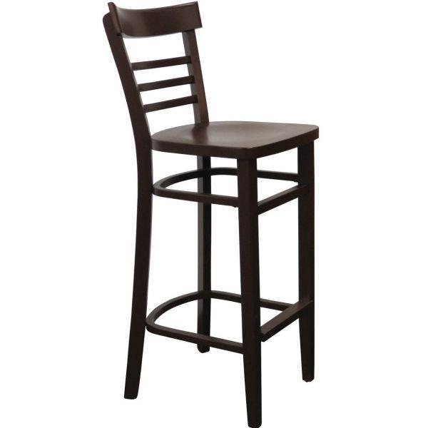 Mocca High Chair (Walnut)